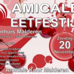 Agenda Amicale - Eetfestijn 2016